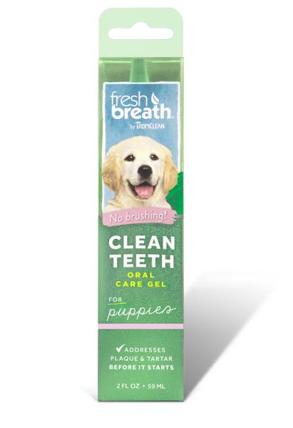 Гель для чистки зубов у щенков TropiСlean, 59 мл