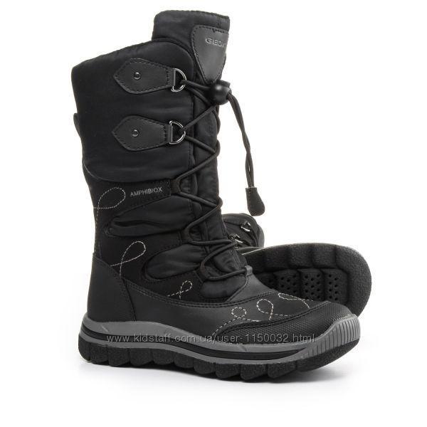Зимние мембранные сапоги ботинки Geox Overland Snow Boots (Размер 20-21 см) (Оригинал  США)
