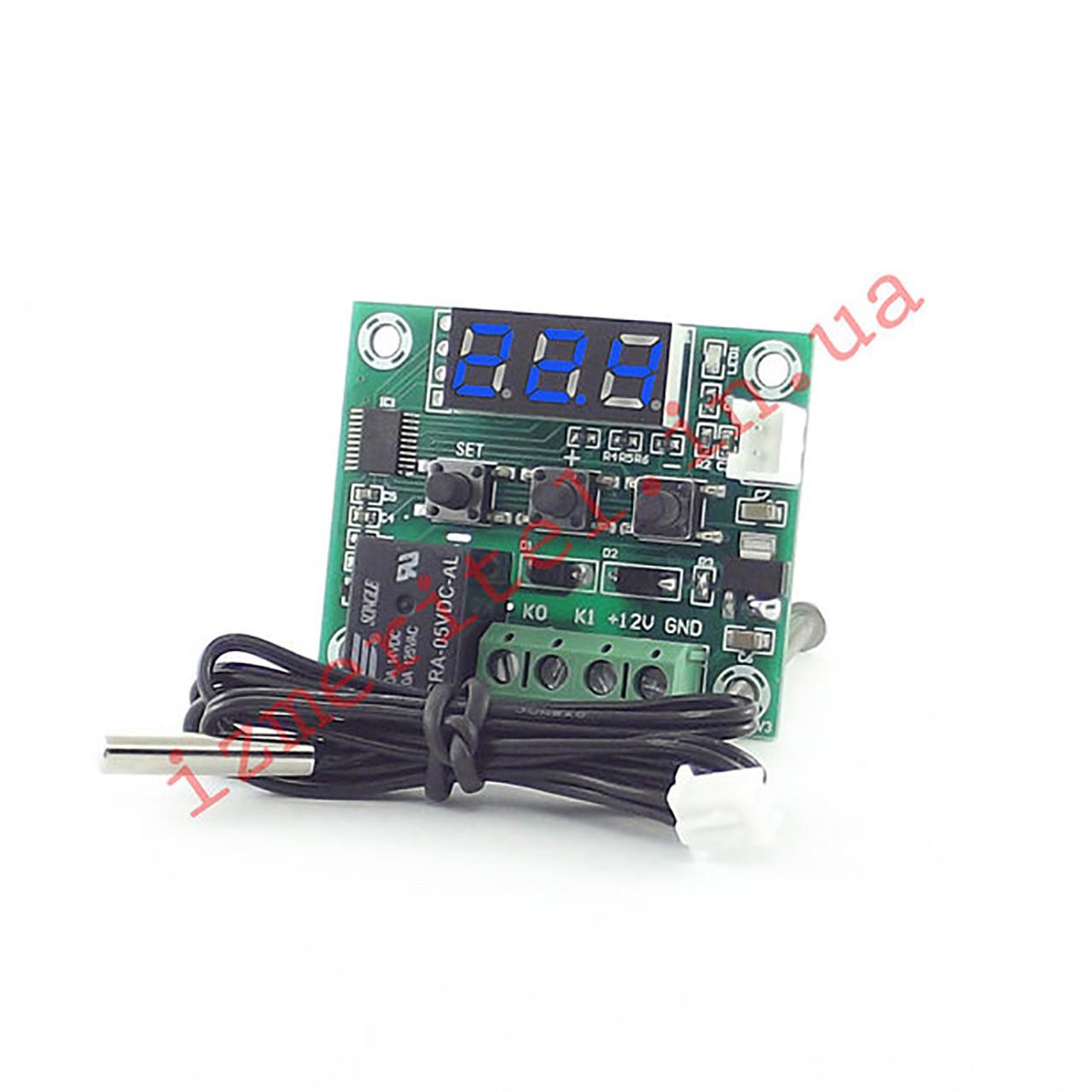 Терморегулятор W1209 5v