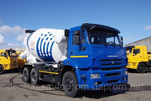 Новый автобетоносмеситель TZA-58149Z объем 9 м3 на шасси КамАЗ-6520