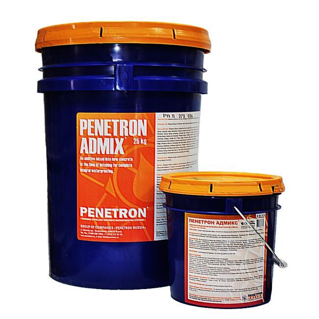 ПЕНЕТРОН АДМИКС – гидро-изоляционная добавка