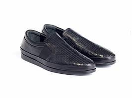 Слипоны Etor 14749-7426 черные