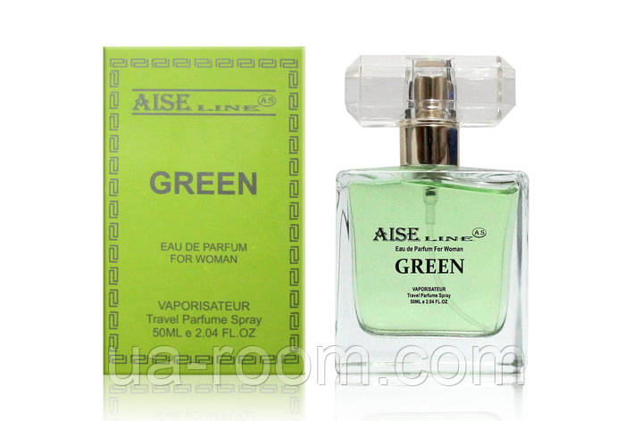 """Парфюмированный спрей Aise Line """"Green"""" (аналог Versace Versense), 50 мл., фото 2"""