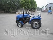 Трактор с доставкой Т 240FРК (24 л.с., 3 цилиндра, KM385, КПП (3+1)х2, регулируемая колея)