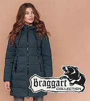 Braggart Simply 1929 | Зимняя куртка бирюзовая