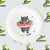Дизайнерская тарелка Donut Worry