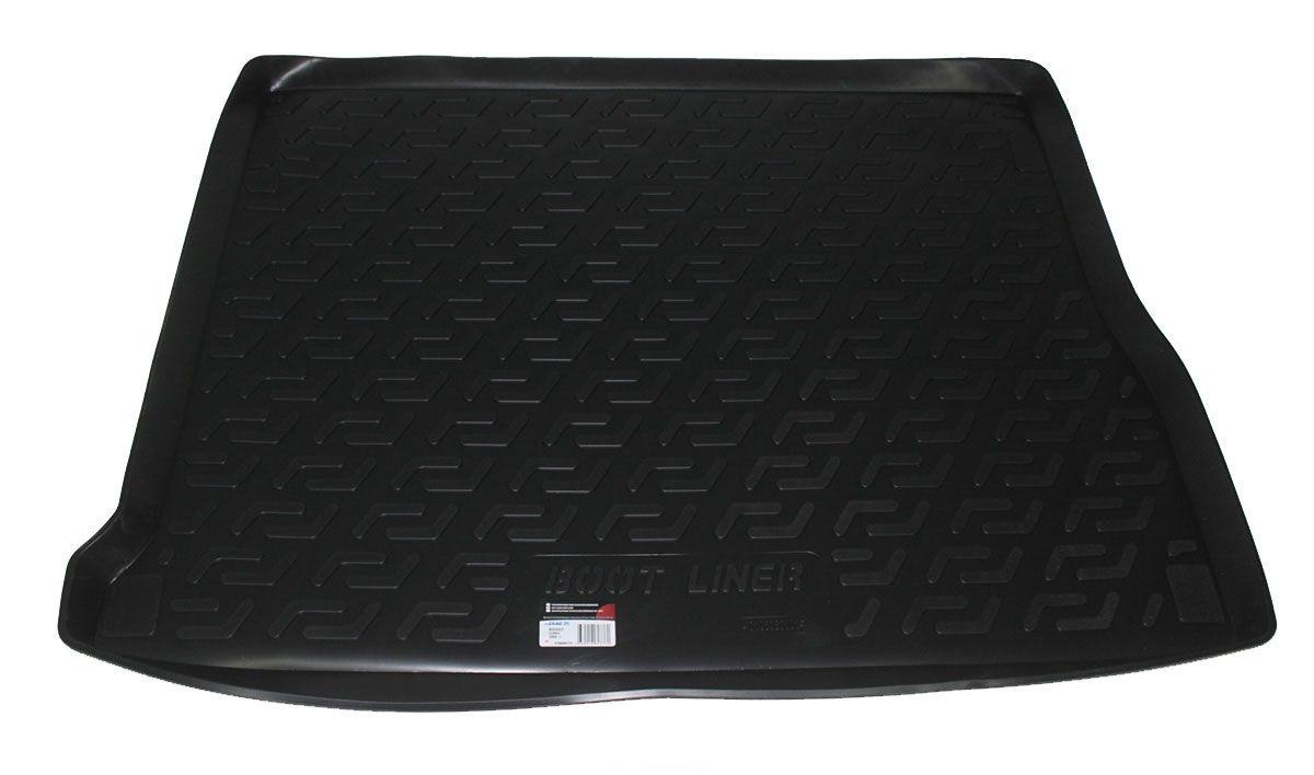 Коврик в багажник для Renault Scenic (09-) полиуретановый 106080101
