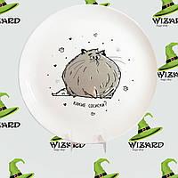 Дизайнерская тарелка Какие сосиски, фото 1
