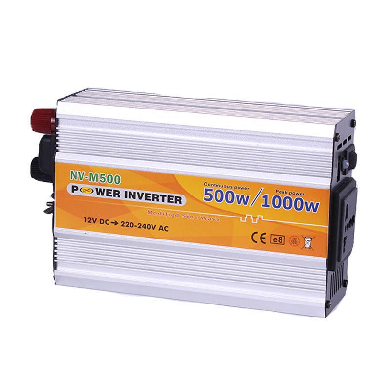 Инвертор NV-M 500Вт 12-220 + USB
