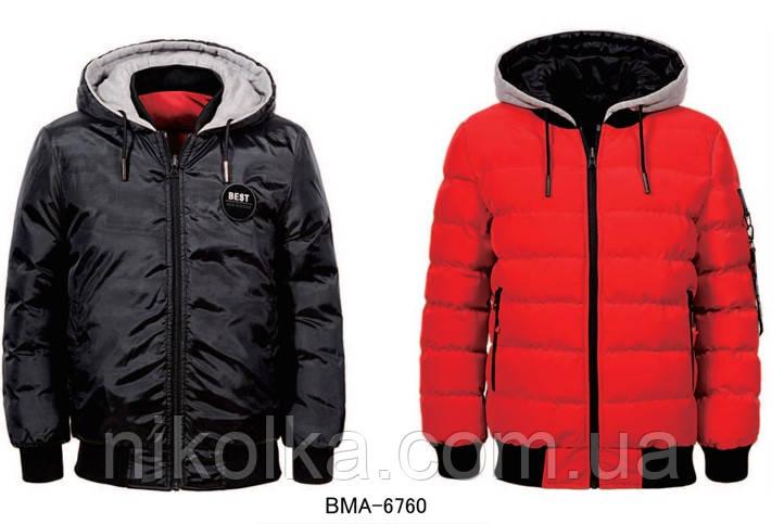 Куртки для мальчиков оптом, Glo-story, 134/140-170 рр., арт.BMA-6760