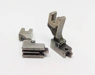 Лапка для потайной молнии для промышленных швейных машин