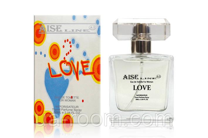 "Парфюмированный спрей Aise Line ""Love"" (аналог Moschino I love love), 50 мл., фото 2"