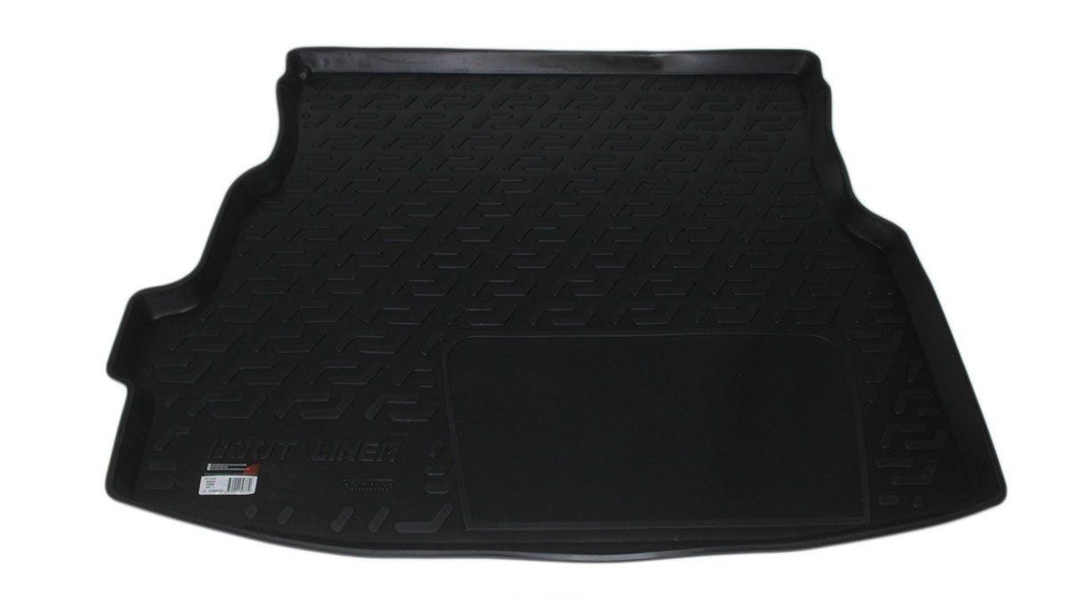 Коврик в багажник для Renault Symbol SD (02-06) полиуретановый 106060101
