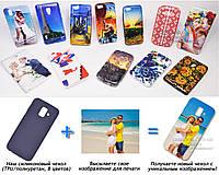 Печать на чехле для Samsung Galaxy A6 2018 A600F  (Cиликон/TPU)