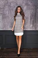"""Стильное платье мини """" Клетка """" Dress Code , фото 1"""