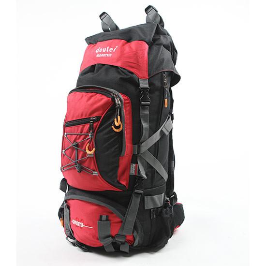 Туристический рюкзак Deuter Grete 80 л. G9937d красный с чорным