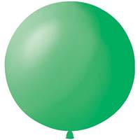 Латексный шар  24/61см, зеленый, пастель 009