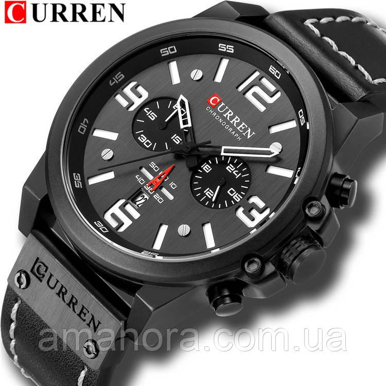 Часы наручные мужские CURREN Black CH D005 671e6f04998f3