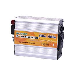 Инвертор NV-M 300Вт 12-220 + USB