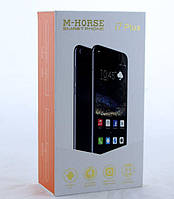 """Мобильный Телефон, смартфон i7 Plus 5.5"""" IP / face id/ Android  (Rose Sliver )"""