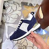 Кроссовки Луи Витон, Run Away, casual, электрик синие, фото 6
