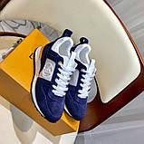 Кроссовки Луи Витон, Run Away, casual, электрик синие, фото 8