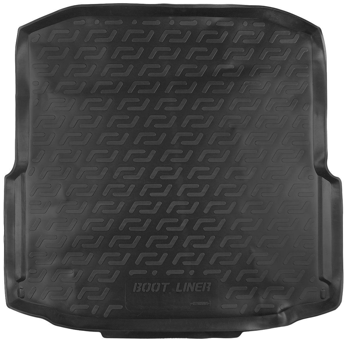 Коврик в багажник для Skoda Octavia III (A7) box (13-) полиуретановый 116020801