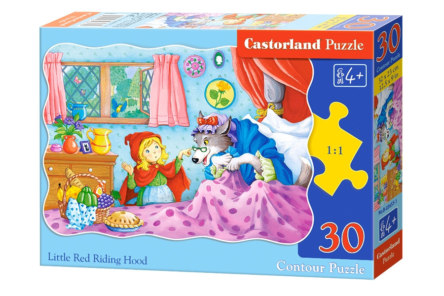 Пазлы 30 элементов Castorland 03655 Красная Шапочка