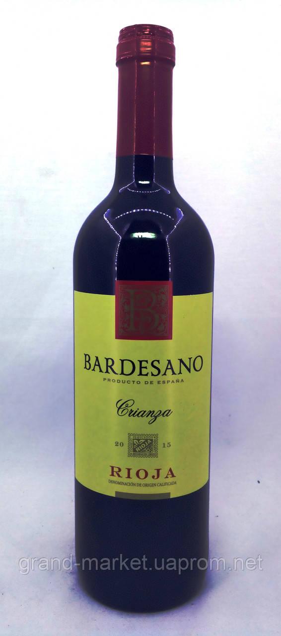 Вино Bardesano Rioja Crianza 2015 DOC
