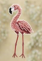Набор для вышивки Mill Hill Flamingo