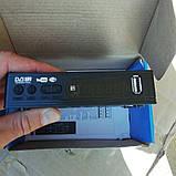 Цифровий телевізійний приймач DVB T2 з функцією Wi-Fi і YouTube, TV тюнер DVB T2, фото 2
