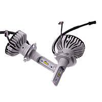 Philips 6500K H7 X-treme Ultinon 12V 12985BWX2 светодиодные автомобильные LED лампы (2шт.), фото 1