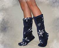 Сапожки Снежинки домашнии Eirena Nadine (S-414) синий 24см
