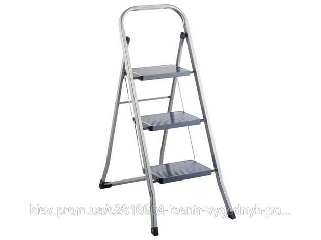 Лестница металлическая 3 ступеньки, фото 2