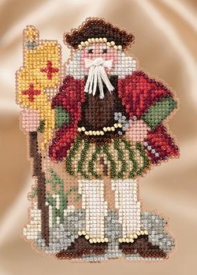 Набір для вишивки Mill Hill Renaissance Genoa Santa