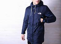 Куртка мужская зимняя, парка. До - 25 градусов! Синий