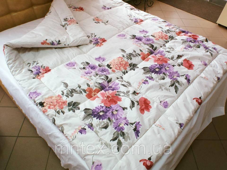Одеяло стеганое чистая шерсть бязь Голд Лето