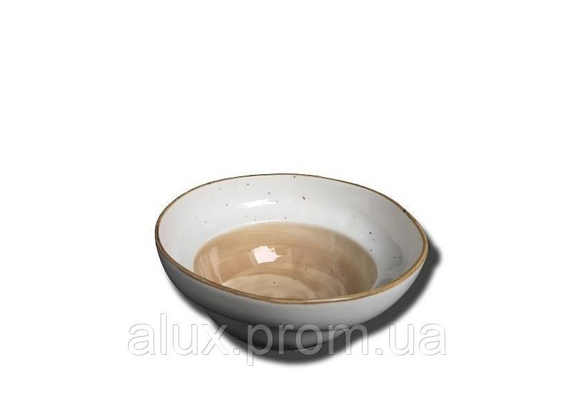 """Салатник глибокий 6.5"""" (16х h7см, 750мл) світло-коричневий 40(5)шт FB3700LB-6.5CS"""