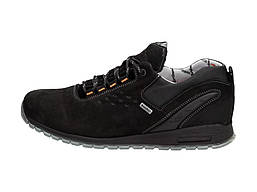 Черные ПОЛЬСКИЕ ботинки мужские NIK 946 ТРЕККИНГ
