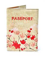 """Обложка на паспорт """"Цветущая ветвь"""""""