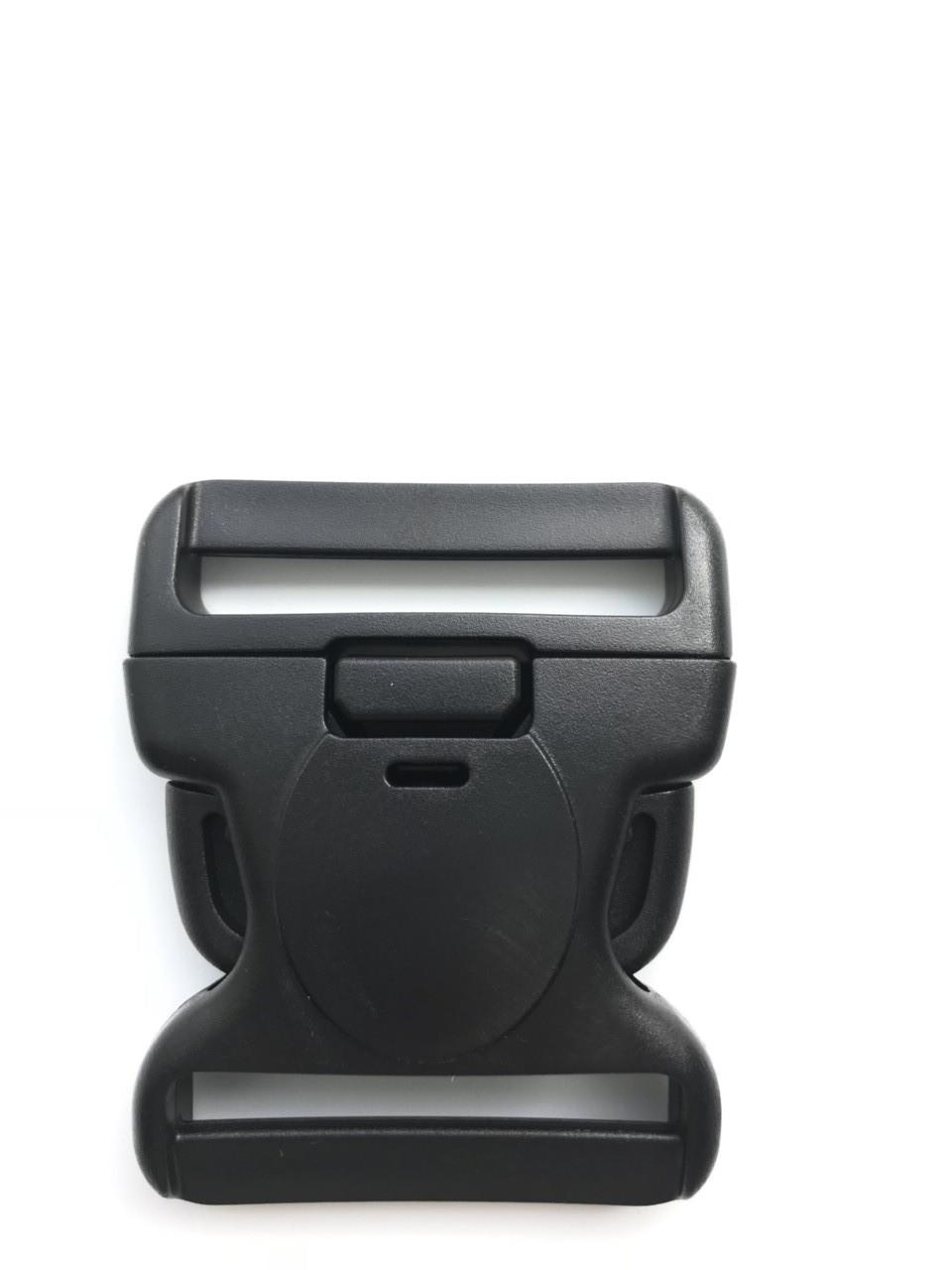Фастекс карабин 5 см цвет черный
