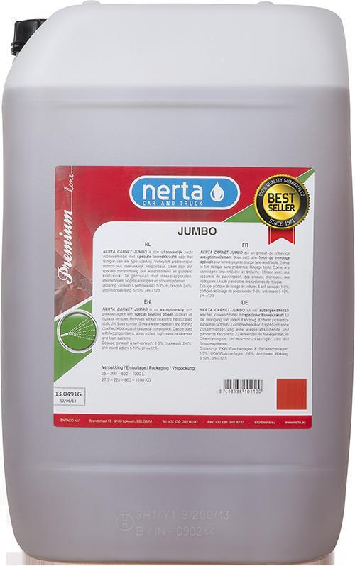 Активная пена для бесконтактной мойки Nerta Carnet Jumbo