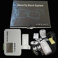 Русифицированная автономная GSM-сигнализация, полный комплект с датчиками сереной и пультами