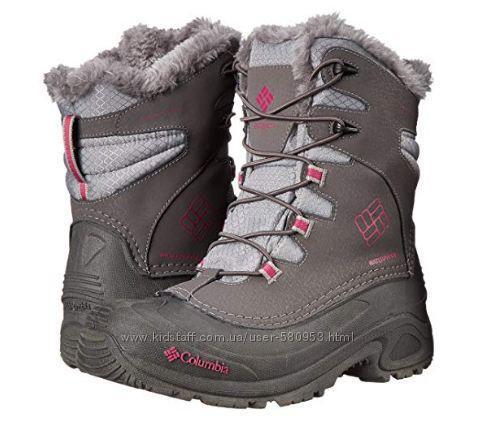 Зимние сноубутсы ботинки Columbia Bugaboot III Girls-K Snow Boot (Размер US 7-25.5 см)