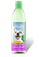 """Добавка в воду TropiСlean """"Hip&Joint"""" для укрепления зубов + здоровые суставы для собак и котов, 475 мл (с глю"""
