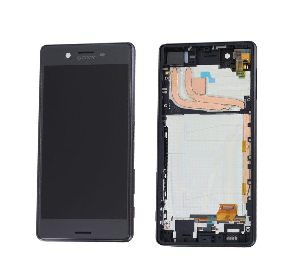 Дисплей (экран) для Sony F8131 Xperia X Performance/F8132 с сенсором (тачскрином) и рамкой серый