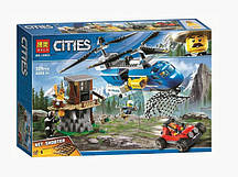 Конструктор BELA Cities Погоня в горах 10863 (Аналог LEGO City 60173) 325 дет