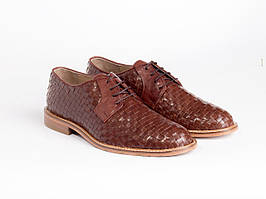Дерби Etor 14086-6926 коричневые