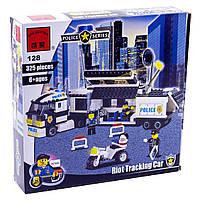 Конструктор Brick Enlighten 128 Полицейский штабной фургон 325 деталей, фото 1