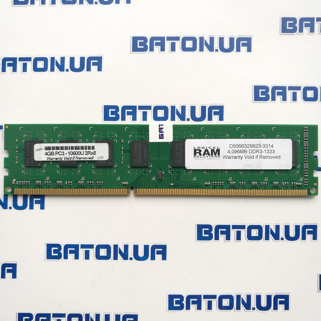 Оперативная память для ПК DDR3 4Gb 1333MHz PC3-10600U 2R8 (D5066329823-3314)